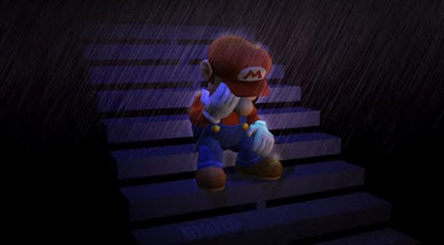 Sad Mario Nintendo