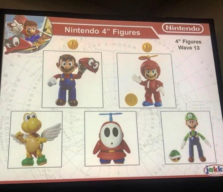 World of Nintendo 4 Inch Figures Wave 13 Preview Jakks Pacific Mario