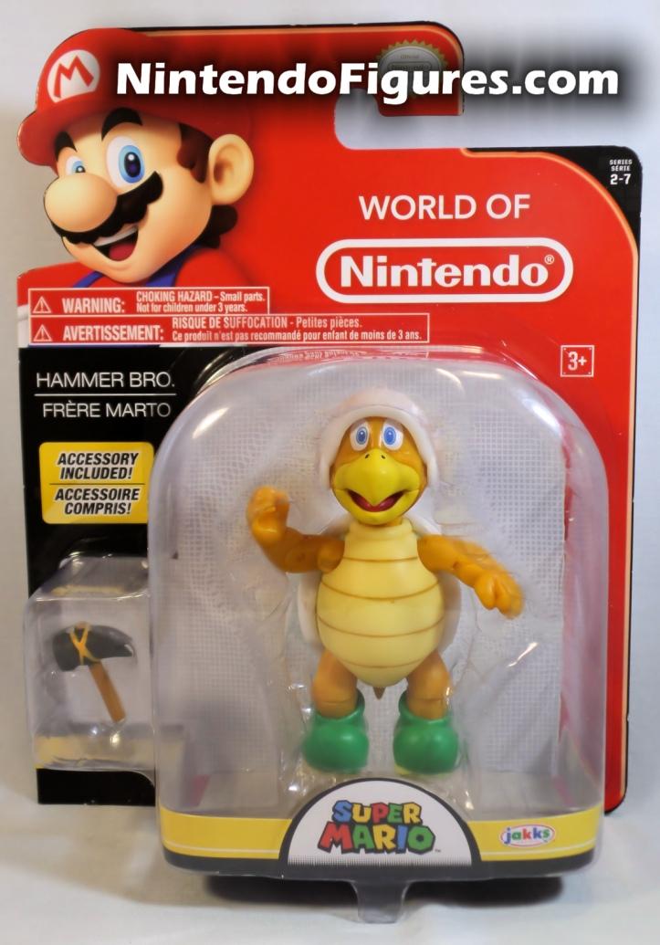 "Hammer Bro World of Nintendo 4"" Inch Figure Box Front"