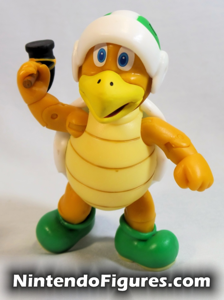 "Hammer Bro World of Nintendo 4"" Inch Figure Throwing Pose"